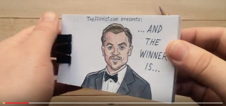 Leonardo Dicaprio ganha Oscar